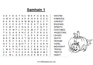 sabbat word search puzzles for pagans