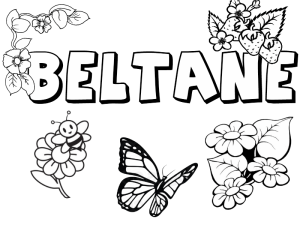 beltane printable pages