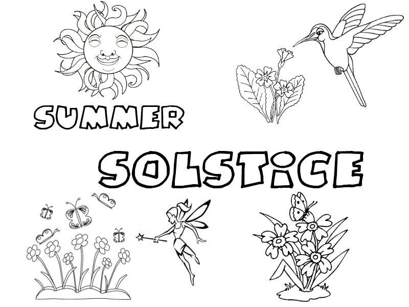 Pagan Printables For Summer Solstice Or Litha
