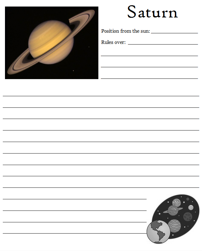 solar system notebooking - photo #16