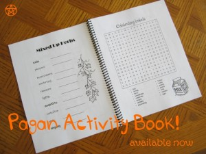 Pagan activity book