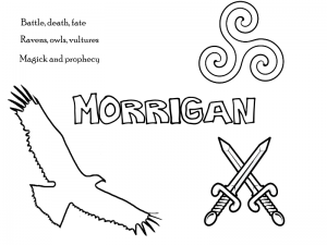 celtic coloring pages for pagan kids