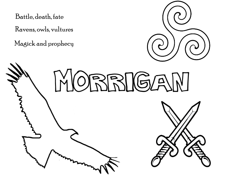 Coloring Sheets – Little Pagan Acorns