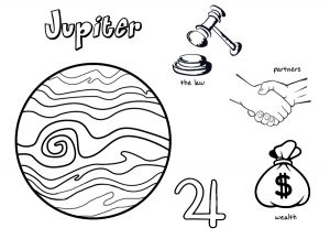 pagan planets coloring pages - Planets Coloring Pages